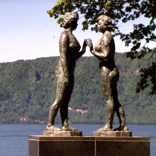 【十和田湖】乙女の像