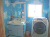 脱衣所&洗濯乾燥機