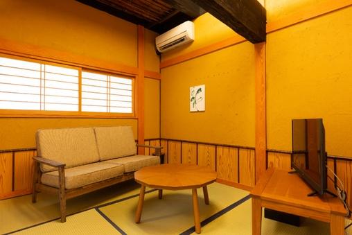 【大人限定離れ】源泉100%かけ流し岩風呂付客室タイプE朝倉