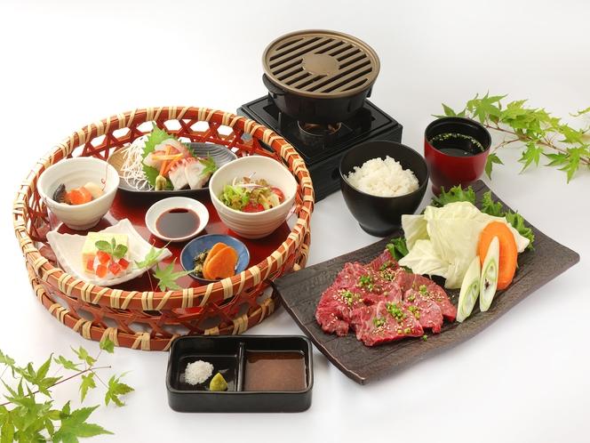 【リーズナブル】天吉プラン/国産和牛の陶板焼き