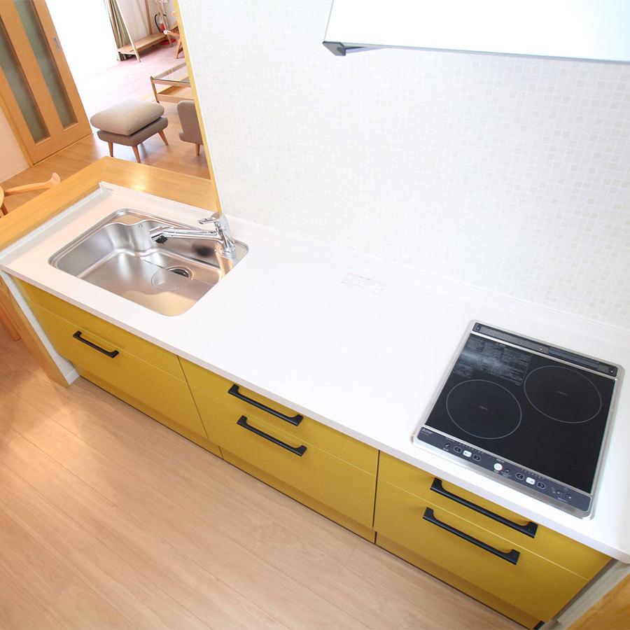 【貸別荘コテージF】キッチン