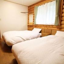 貸別荘C 寝室