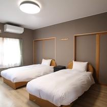 貸別荘D 寝室