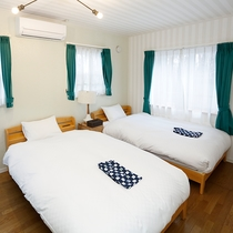 【貸別荘L】寝室