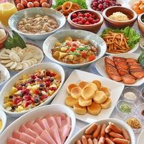【朝食バイキング】50種類のバイキング
