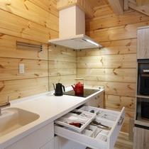 ログプレミアム 木立 キッチン