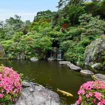 *【日本庭園】純和風の美しい日本庭園は、お客様からもご好評いただいております。