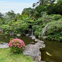 *【日本庭園】山口の魅力でもある自然の緑をご堪能ください。