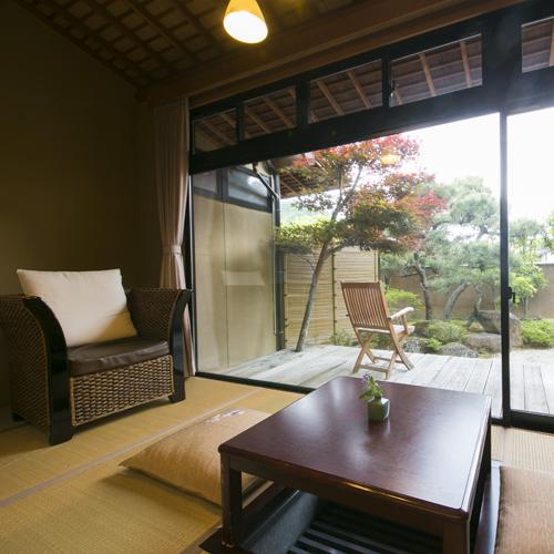 <坂戸和室タイプ>の一例 お庭を望むお部屋