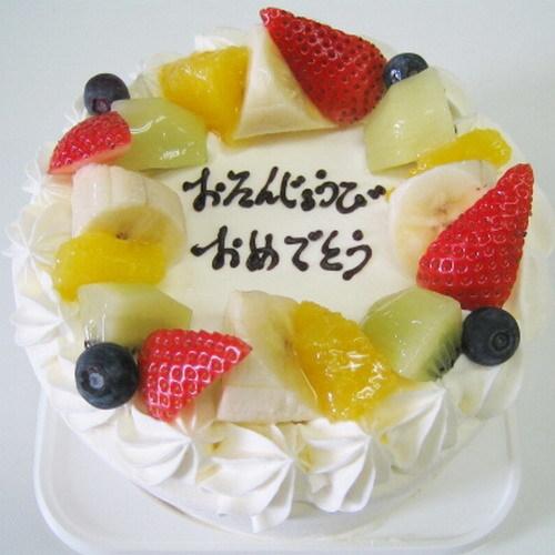 お祝用ケーキのイメージ ※事前予約にて承ります