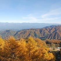 <ヘブンスそのはら>展望台から秋の景色