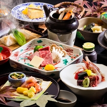 会席料理のイメージ(秋)