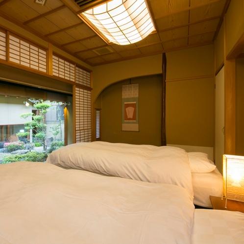 <坂戸和室タイプ>の一例 次の間にはベッドまたは和ベッドがございます