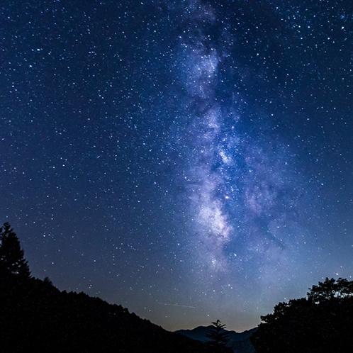 <日本一の星空> お天気次第では満天の星空がご覧いただけます