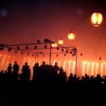 <昼神温泉 夏祭り> 毎年お盆の時期に開催