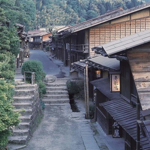 <妻籠宿> 中山道の宿場町の雰囲気を今に伝えています
