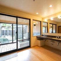 <結崎タイプ>の一例 温泉の浴室