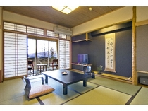 ◆デラックス(JG)【和風庭園付き和室10畳】
