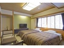 ◆スタンダード・ツインベッド【和洋室10畳】