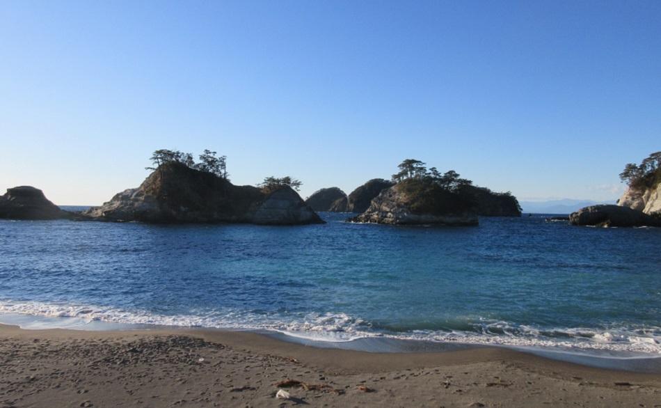 乗浜海水浴場まで徒歩2分