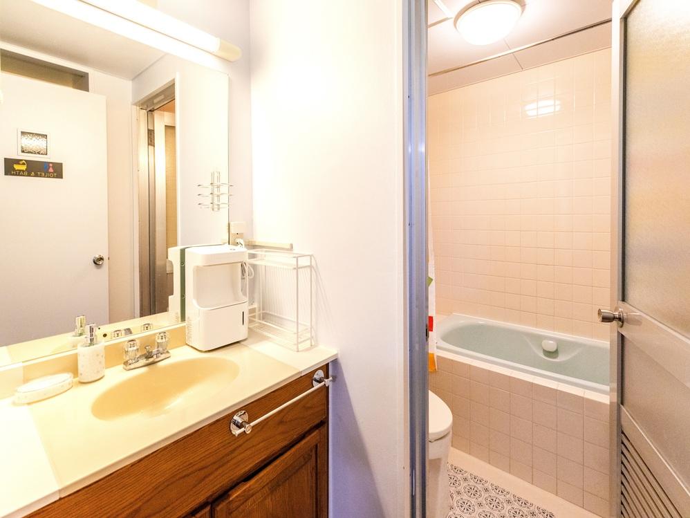 MOON LIGHT(301号室)コンドミニアムタイプ バスルーム
