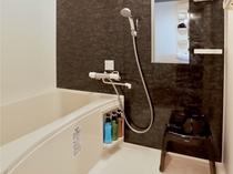 ■浴室■ 広々スタジオタイプ・2ベッドルーム・1ベッドルームには浴槽が完備しております。