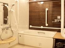 ■1ベッドルーム(バリアフリー対応)■ 洗面・トイレ・浴室など、水回りは広めの造りとなっております。
