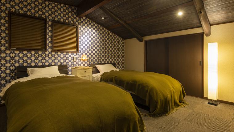客室【頂】ベッドルーム