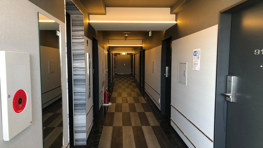 各フロア廊下