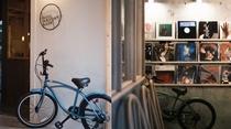 自転車とロビー