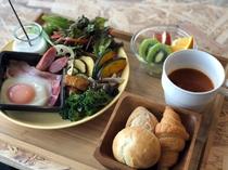 【朝食】洋プレート