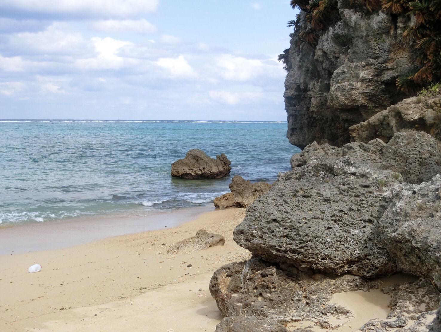 近くのビーチ