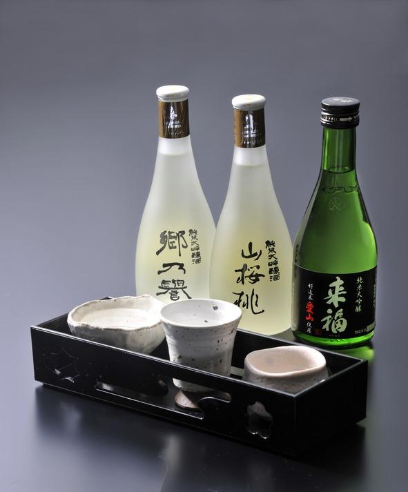 三種の地酒(大吟醸)