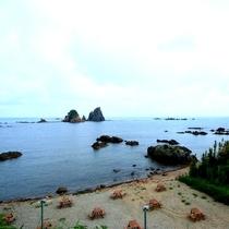 雄大な太平洋