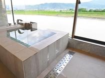 リバービュー温泉スイート 客室風呂一例
