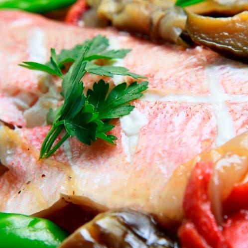 当館自慢の洋風にアレンジした魚料理の味わいをご堪能下さい!