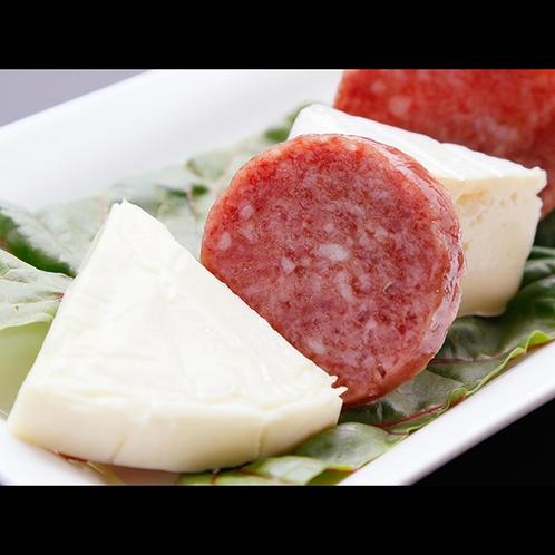 ディナーの一例のチーズ料理☆お酒のおつまみにぜひ!