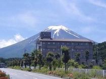 富士山が望めるホテルです
