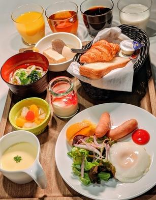 【朝は軽食派のあなたへ】軽食モーニングビュッフェ付きプラン〜手作り朝カレーはじめました!〜