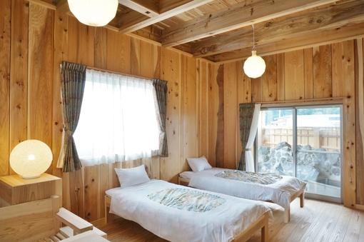 ツインルーム(露天風呂付き)大平山棟