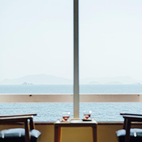 ・すべての客室から広々とした瀬戸内海を見渡すことができます