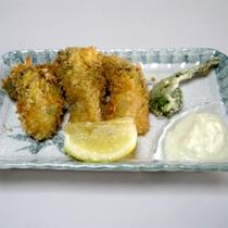 牡蠣コース料理(一例)