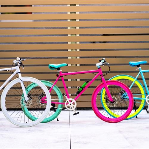 貸出し用自転車