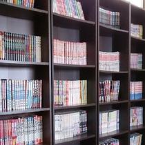 漫画本コーナーは3000冊以上ご用意しております♪