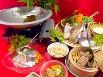 2016年夏「海鮮鍋コース」1