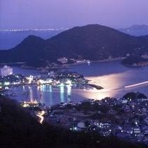 鞆の浦の夜景