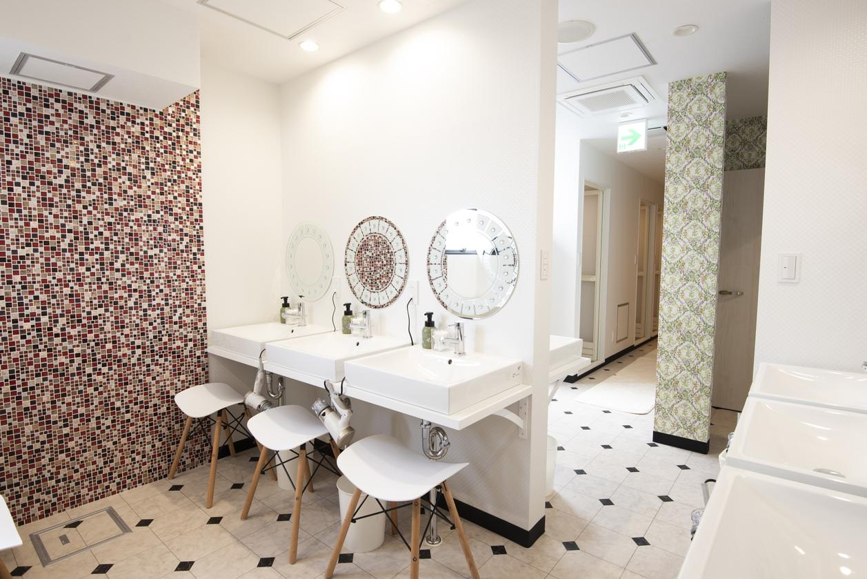 5階女性専用シャワー室