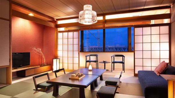 デザインルーム和室10畳☆オーシャンビュー(禁煙・部屋食)