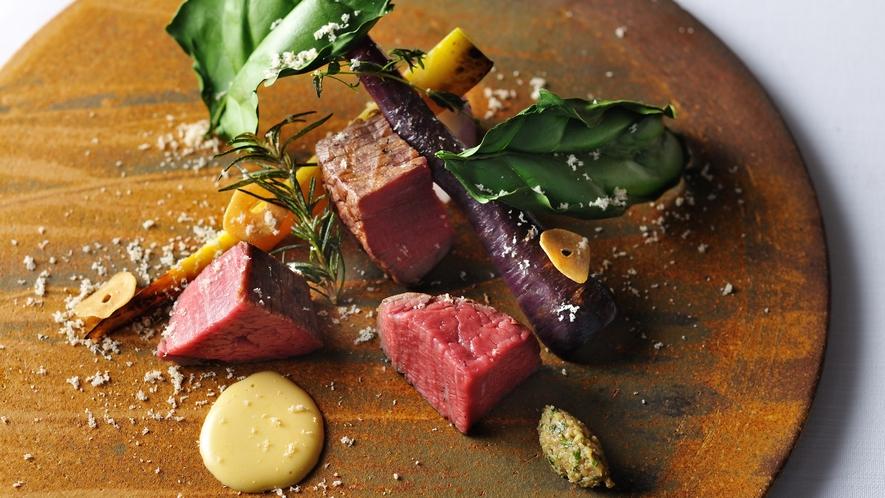 メインダイニング「OTTO SETTE NASU」料理一例