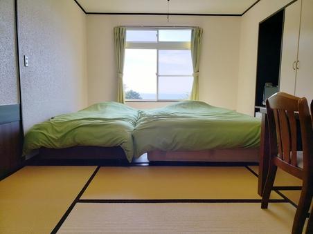 和洋TYPE A(22平米)オーシャンビュー本館コーナー部屋